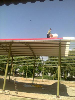نصب سقف شیروانی