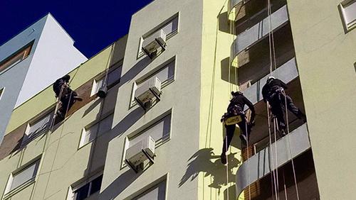 تعمیر نمای ساختمان
